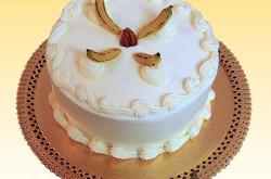Vanilla Buttercream, Marzipan Bananas