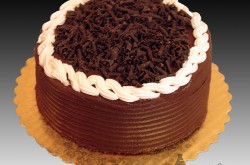 Chocolate Buttercream Icing, Chocolate Curls