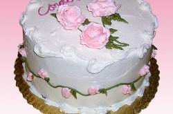 Buttercream Roses & Rosebuds, Vanilla Buttercream Icing