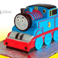 Thomas the Train Sculpted Cake
